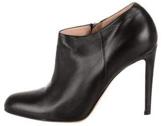 Gianvito Rossi Round-Toe Ankle Booties