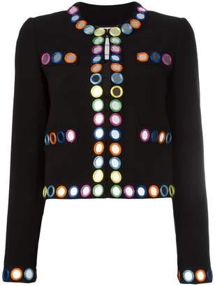 Moschino mirror embroidered jacket
