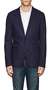 Zadig et Voltaire ZADIG ET VOLTAIRE MEN'S VITRO COTTON TWO-BUTTON SPORTCOAT-NAVY SIZE 46 EU