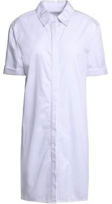 Equipment Mirelle Striped Cotton Shirt Dress