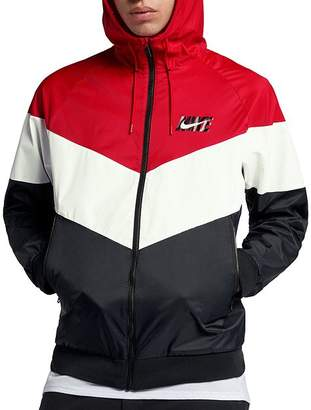 Nike Color-Block Hooded Windbreaker Jacket