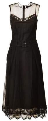 Simone Rocha Belted Waist Dress