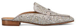 Tory Burch Amelia Glitter Backless Loafer
