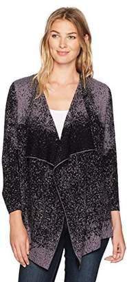 Kasper Women's 3/4 Sleeve Short Cardigans with Side Slits (2)