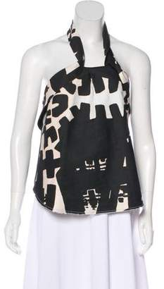 Isabel Marant Halter Sleeveless Top