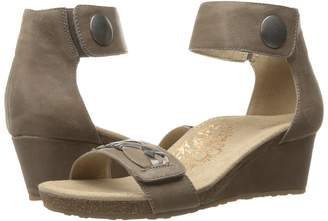 Aetrex Becca Ankle Strap Wedge Women's Shoes
