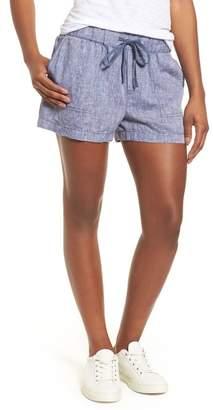 Caslon R) Linen Shorts (Regular & Petite)