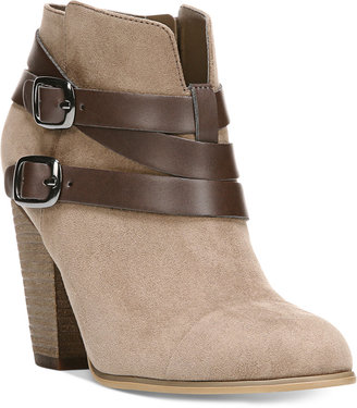Carlos by Carlos Santana Helene Short Buckle Booties $79 thestylecure.com