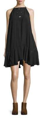 Free People Heat Wave Embroidered Tunic Dress