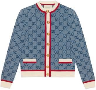 Gucci GG knit cardigan
