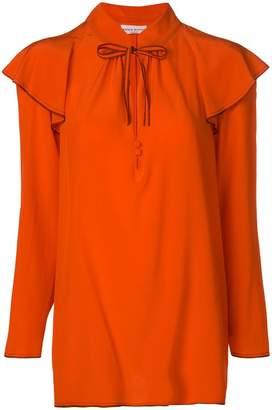 Sonia Rykiel ruffle neck blouse