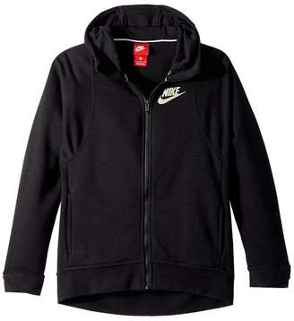 Nike Sportswear Modern Full-Zip Hoodie Girl's Sweatshirt