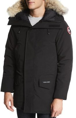 Canada Goose Langford Parka with Fur-Trimmed Hood, Black $900 thestylecure.com