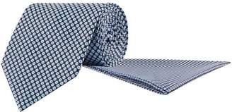 Stefano Ricci Silk Micro Daisy Print Tie