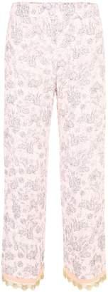 Prada Rabbit Lightweight Sanded Trousers
