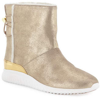 Cole Haan StudioGrand Waterproof Slip-On Boots, Sand