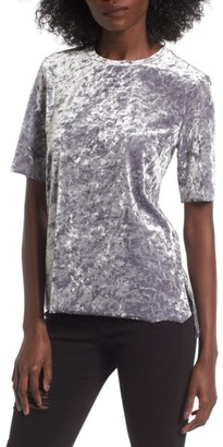 Women's Bp. Crushed Velour Tee $35 thestylecure.com