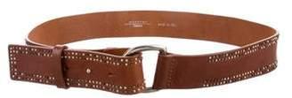 Max Mara Weekend Embellished Skinny Belt