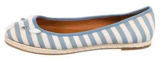 Marc by Marc Jacobs Striped Mouse Flats