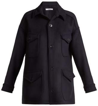 Katharine Hamnett Oversized wool jacket