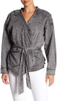 One Teaspoon Society Wrap Denim Jacket