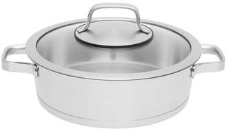 Berghoff Manhattan 3.2-qt Stainless Steel Covered Two-Handle Deep Skillet