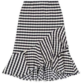 Sale - Maeyles Gingham Maxi Skirt - Les Coyotes de Paris Women