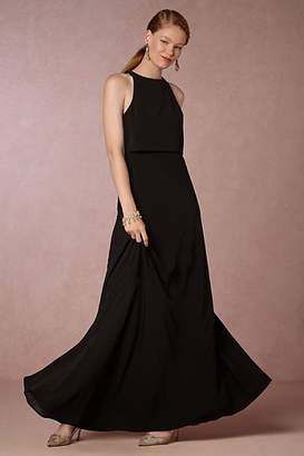 Anthropologie Iva Crepe Maxi