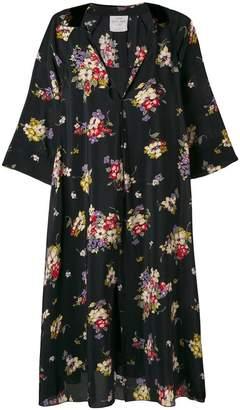 Forte Forte floral flared midi dress