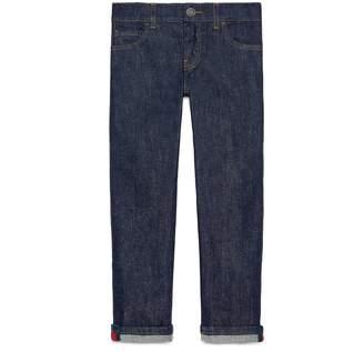 Children's denim pant with Web $290 thestylecure.com