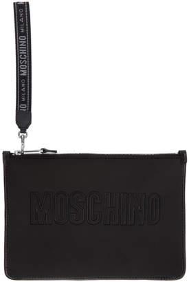 Moschino Black Logo Pouch