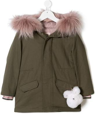 Yves Salomon Enfant pompom jacket