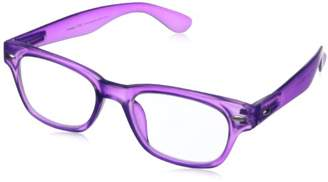 Peepers Rainbow Bright Wayfarer Reading Glasses 1.75x - Two-Pack ()