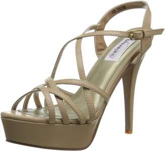 Dyeables Dyeables, Inc Womens Inc Womens Cali Platform Sandal