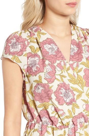 Women's Leith Foral Print Midi Dress 2