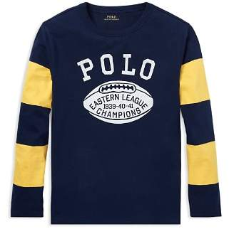 Ralph Lauren Boys' Cotton Graphic Tee - Big Kid