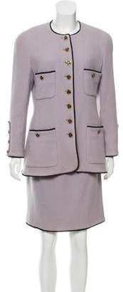 Chanel Bouclé Skirt Suit Bouclé Skirt Suit