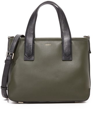 DKNY Greenwich Small Tote $398 thestylecure.com