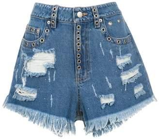 Andrea Bogosian denim shorts