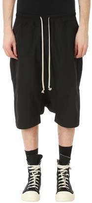 Drkshdw Black Cotton Shorts