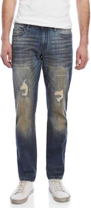 William Rast Grudge Dean Slim Straight Jeans
