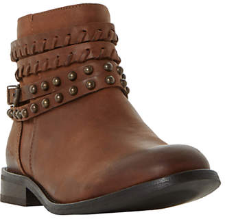 Bertie Parader Studded Strap Ankle Boots
