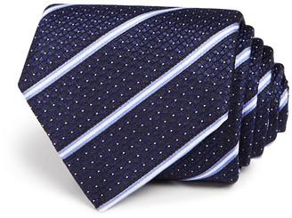 Eton of Sweden Textured Track Stripe Classic Tie $150 thestylecure.com