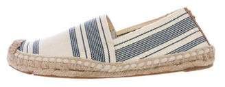 Tory Burch Canvas Slip-On Espadrille