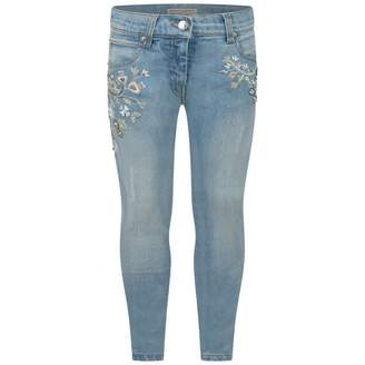 Ermanno Scervino Ermanno ScervinoFloral Embroidered Jeans With Beads
