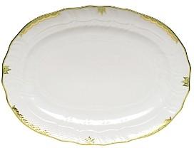 Princess Victoria Green Platter