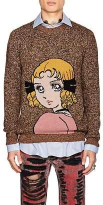 Gucci Men's Anime-Intarsia Wool Sweater