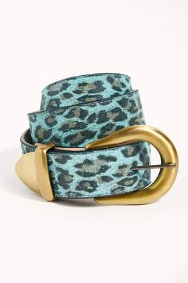 Leather Rock All Time Leopard Belt
