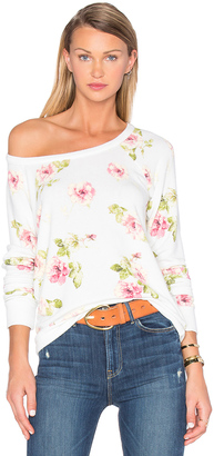 Chaser English Rose Sweater $79 thestylecure.com