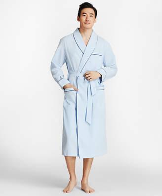 Brooks Brothers Seersucker Robe